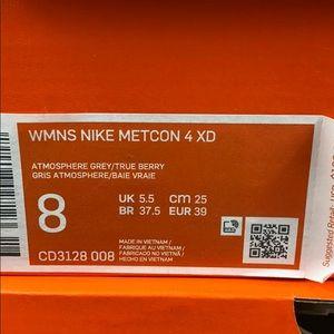 Nike Shoes - Nike Metcon 4XD True Berry